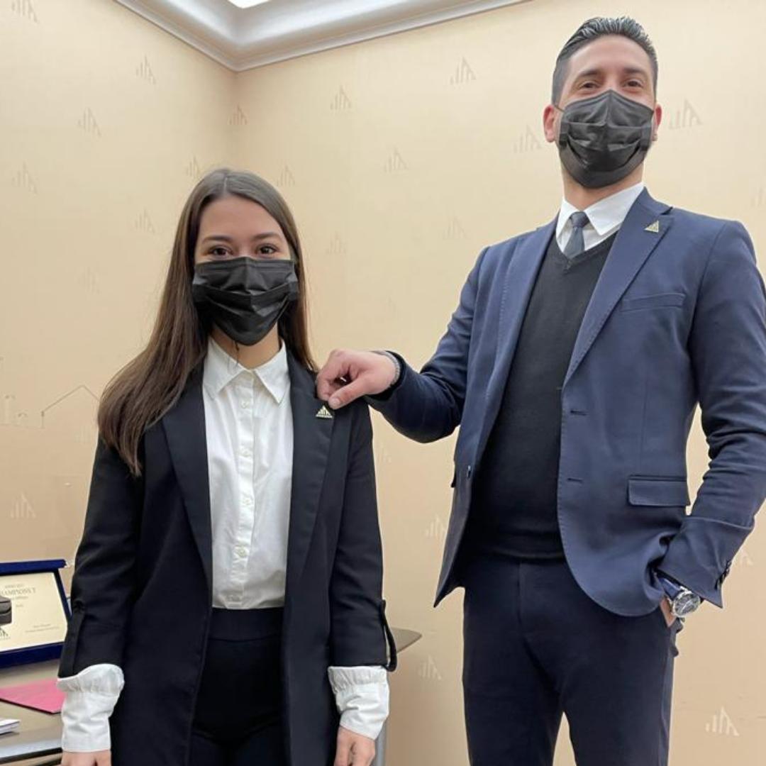 Nuovo stagista nell'agenzia Toscano Catania Borgo