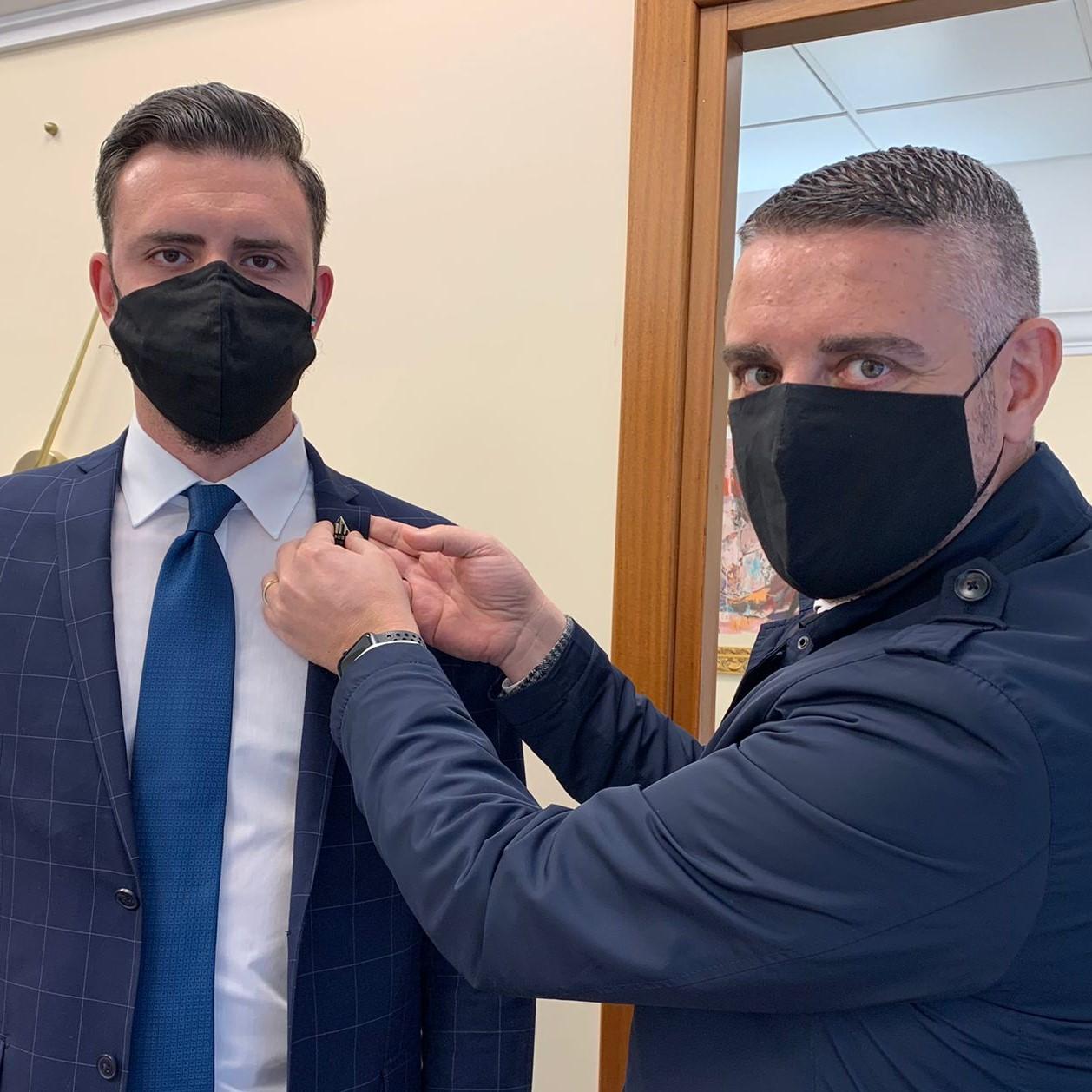 Nuovo stagista nell'agenzia Toscano Brindisi