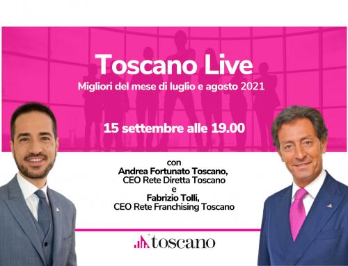 Toscano Live – I Migliori del Mese del periodo luglio e agosto 2021